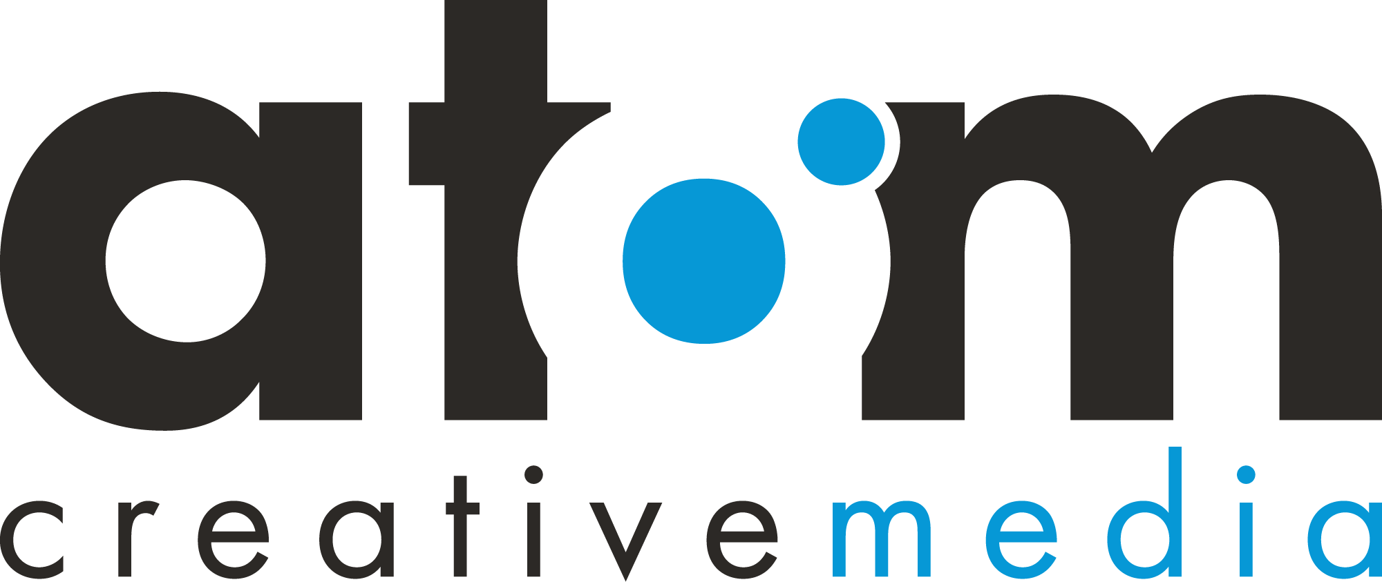 Atom Creative Media Logo for Website Design & Branding in Southend-on-Sea, Essex
