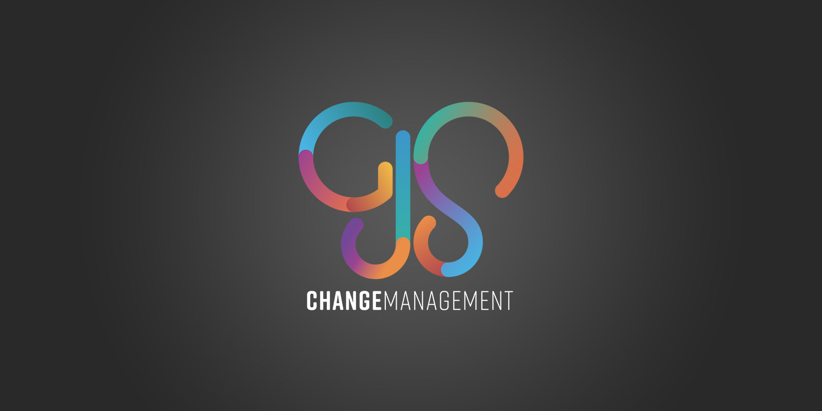 GJS Change Management Logo and Branding