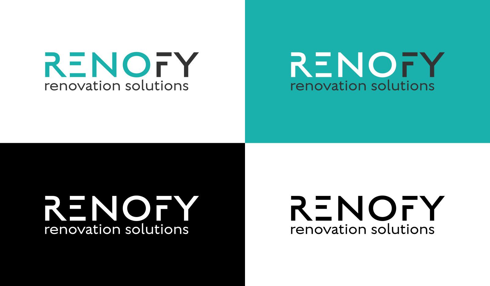 Renofy Logo Designer Essex concepts