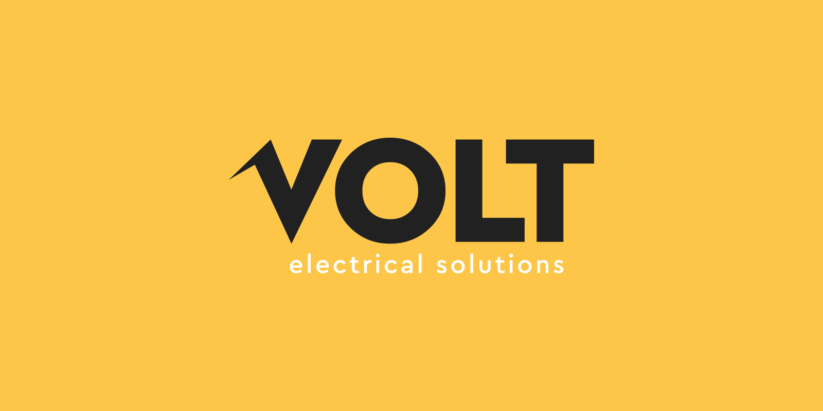 Logo design for Volt electrical solutions
